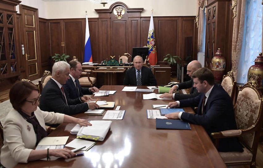 Путин высказал чиновникам свое недовольство медленным темпом роста реальных доходов людей