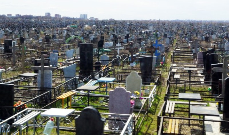 кладбище в Ростове