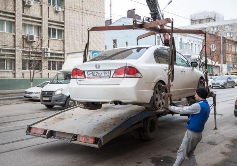 Монополия на эвакуацию автомобилей в Ростове