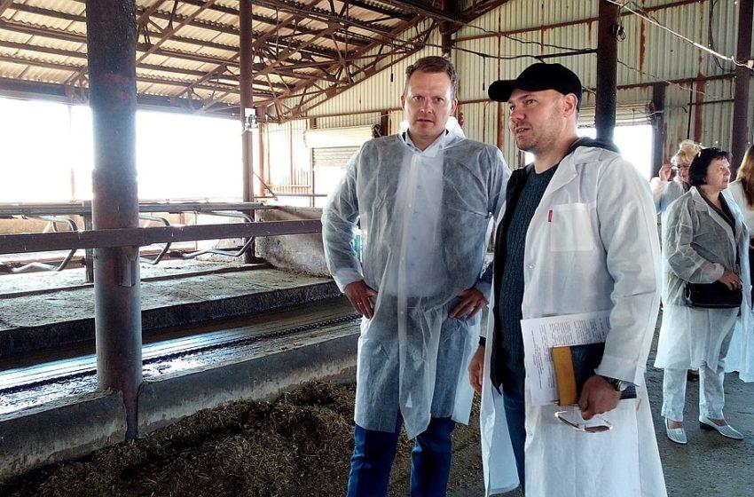Делегация из Дании высоко оценило сельхозпредприятие Ростовской области