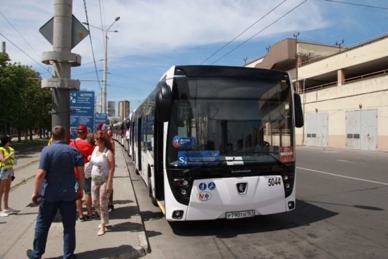 Современные экологичные автобусы для Ростовской области