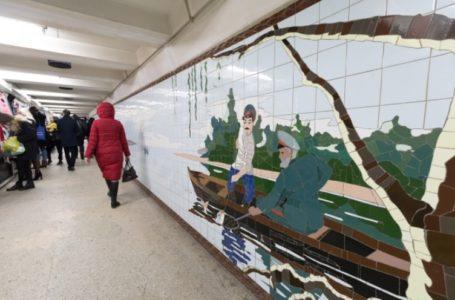 В подземных переходах Ростова разрушаются мозаики