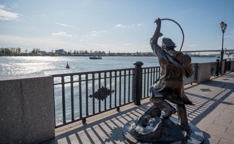 В Ростове благоустраивают районы города