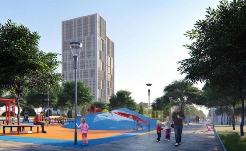 Жилые высотные здания на Комарова построят