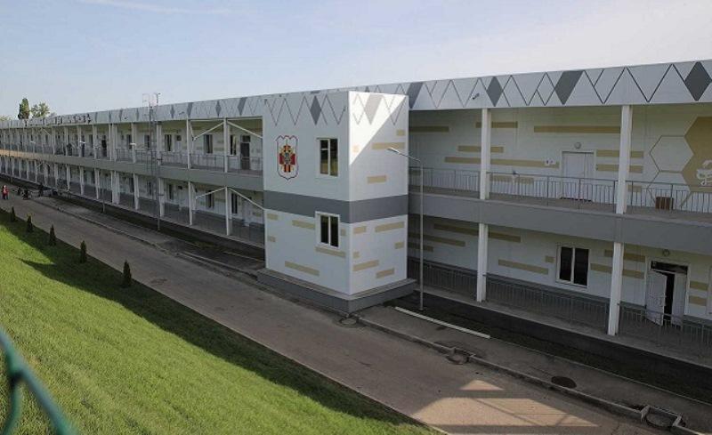 Военный госпиталь в Ростове построили для коронавирусных