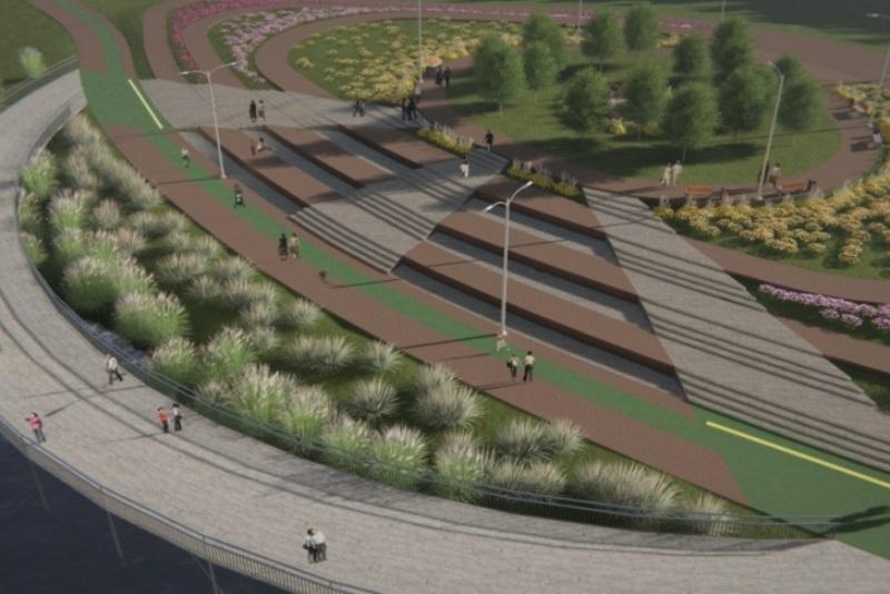 Показан проект экологического парка «Первая миля»