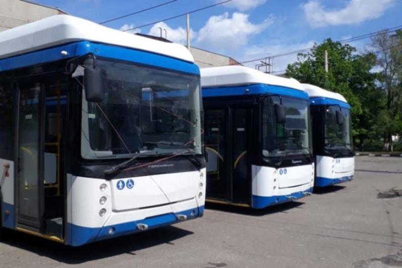 Троллейбусы с автономным ходом