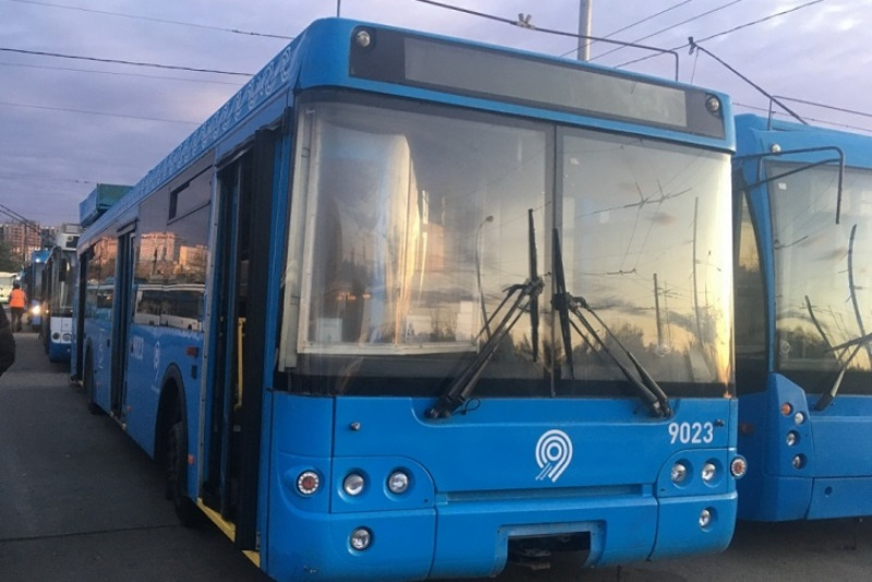московские троллейбусы