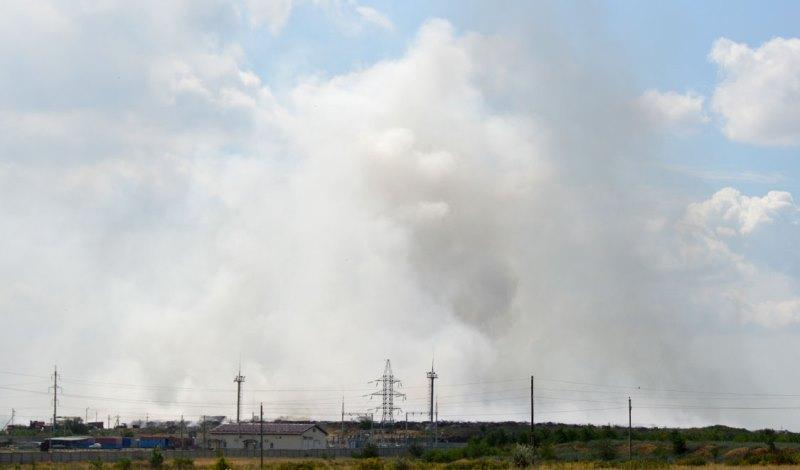 На свалке в Каменске произошло новое возгорание мусора
