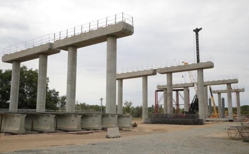 строительство моста в Волгодонске