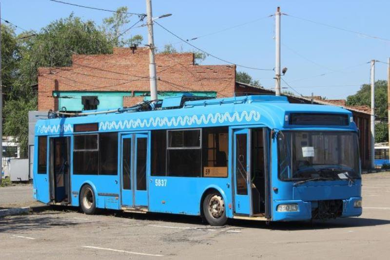 троллейбусы из Москвы