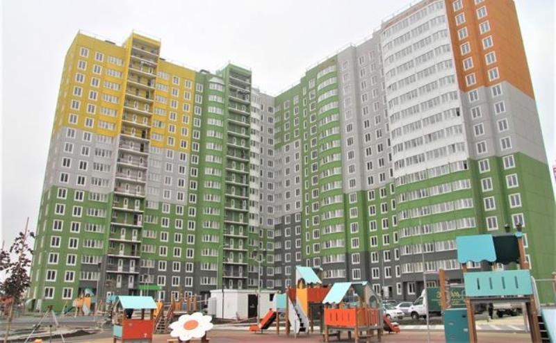 В Левенцовке построили новый многоквартирный дом