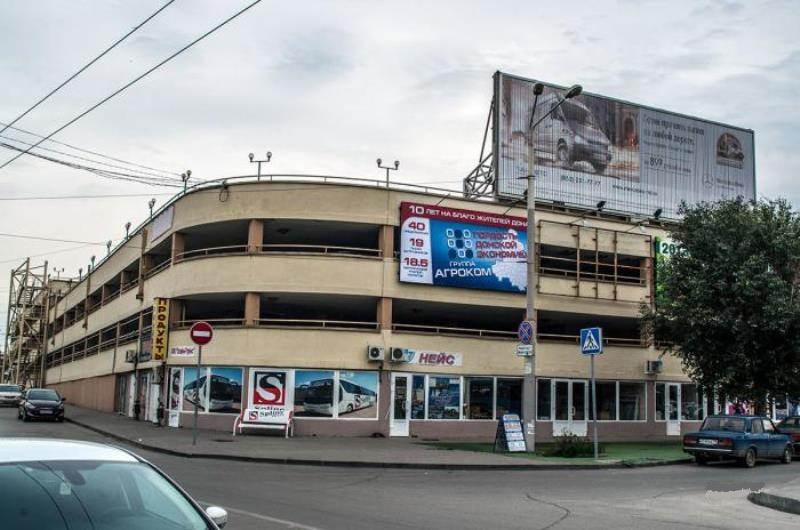 На продажу выставлена многоуровневая закрытая парковка на Привокзальной площади Ростова