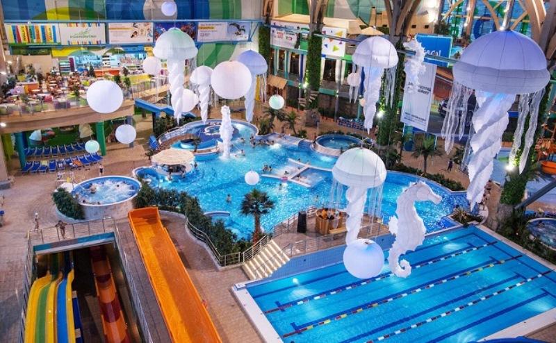 реконструкция аквапарка