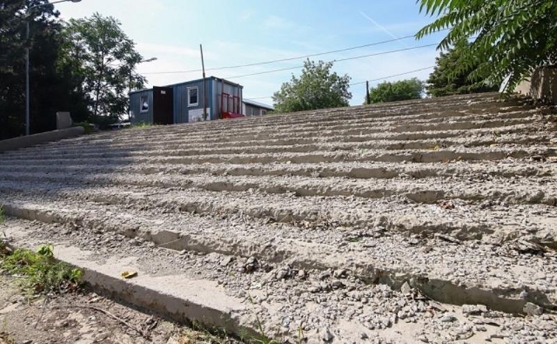 Благоустройство парка Собино и Зеленого острова в срок не выполнено