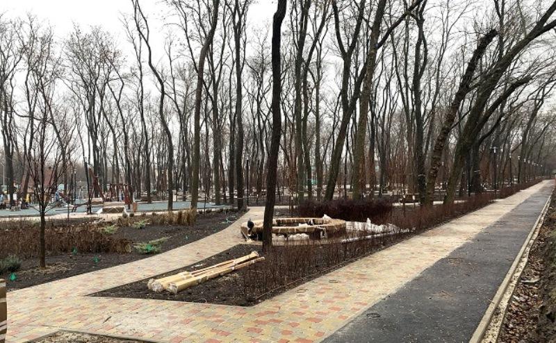 900 тысяч рублей украдено при благоустройстве парка «Вересаево»