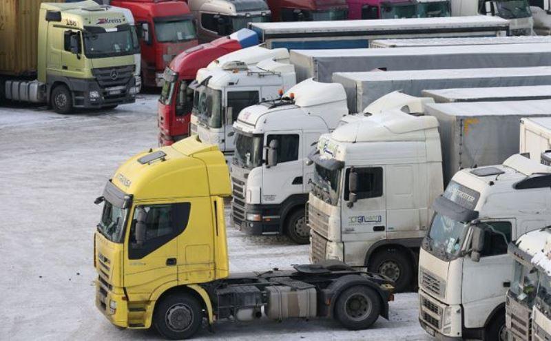 стоянки грузовиков
