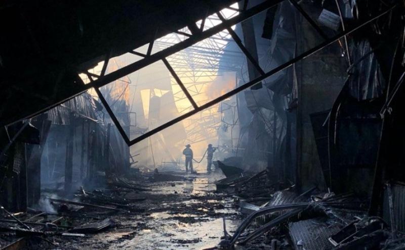 Рынок «Классик» после пожара хотят закрыть