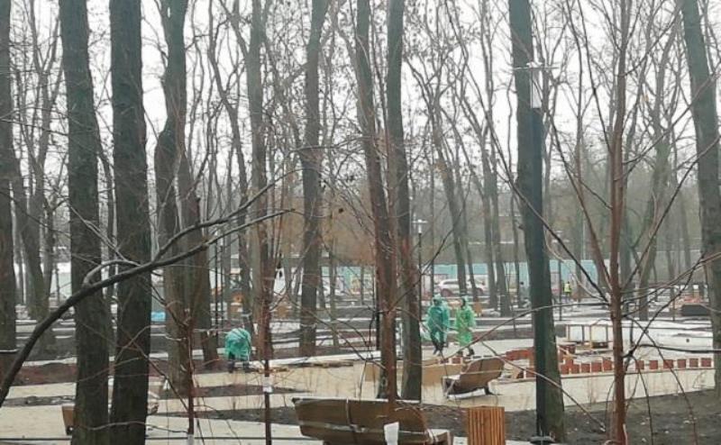 При благоустройстве парков в Ростове растратили бюджетные средства