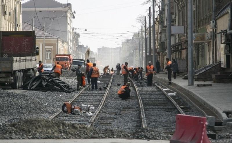 Реконструкция улицы Станиславского может быть закончена нынешней осенью