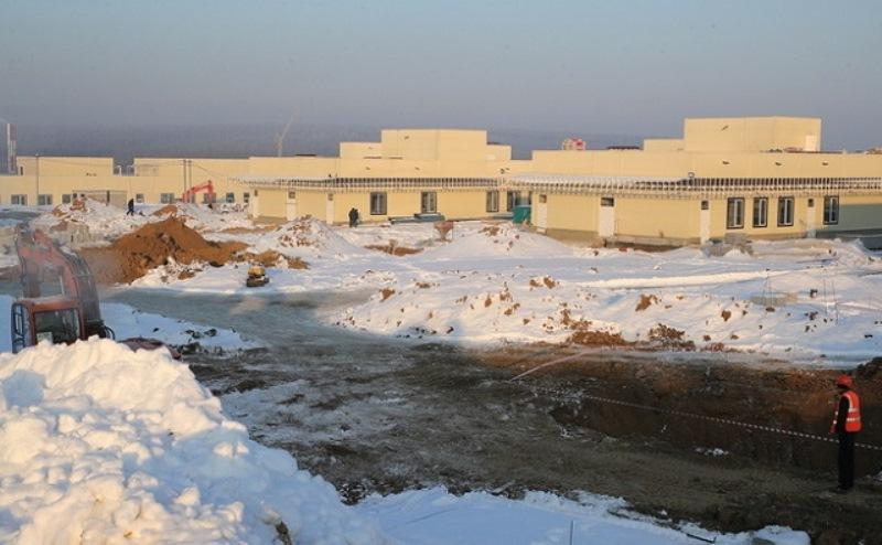 строительство больницы