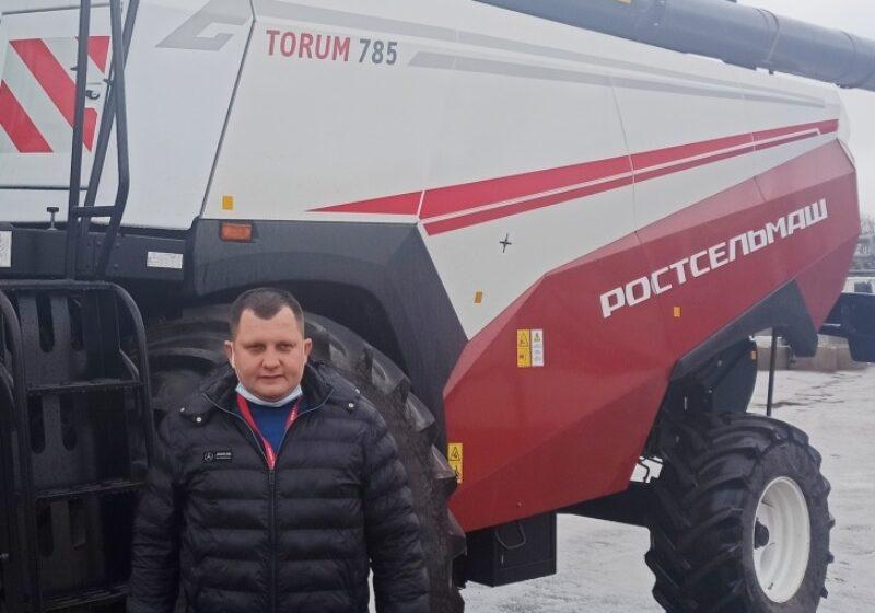 Фермеры тестировали сельхозтехнику «Ростсельмаша»
