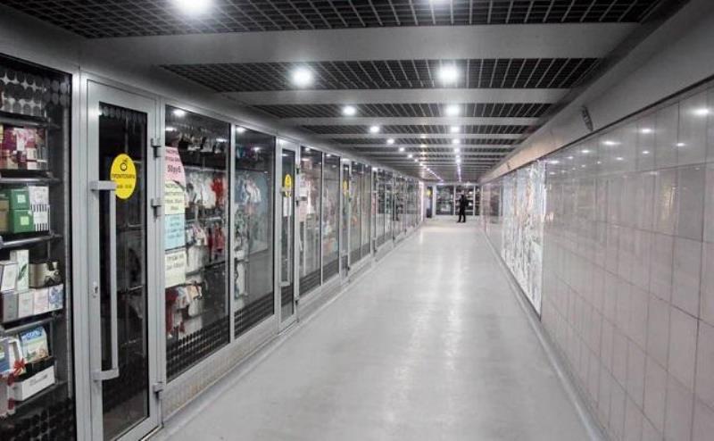 Торговые ларьки из подземных переходов в Ростове уберут