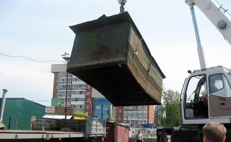 В Ростове самовольно построенные гаражи, сараи и будки будут сносить