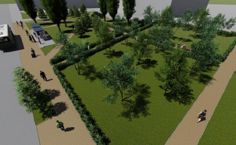 Мини-сквер хотят создать в Ростове возле рынка «Шайба»