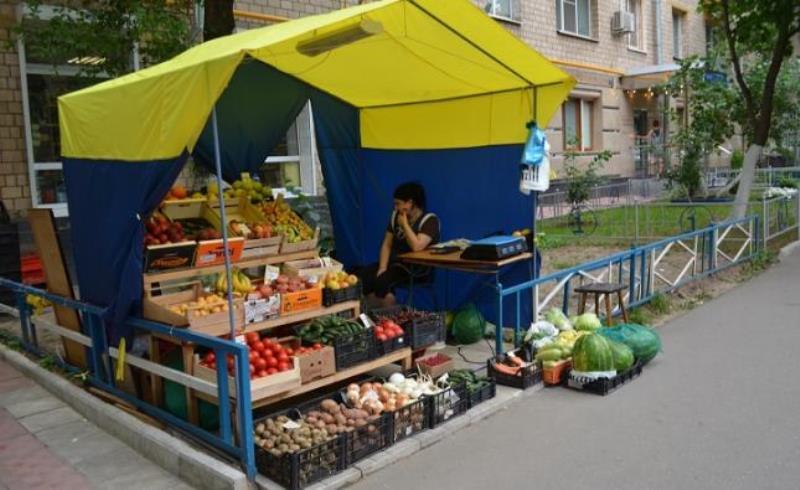 овощные палатки