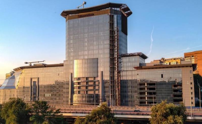 За 100 млн. рублей продали недостроенный отель Sheraton в Ростове