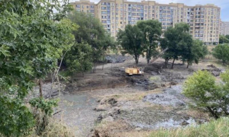 Строительство парка