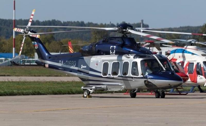 обслуживание вертолета