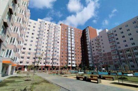 В Левенцовке в жилом комплексе «5 элемент» сдали в строй новый дом
